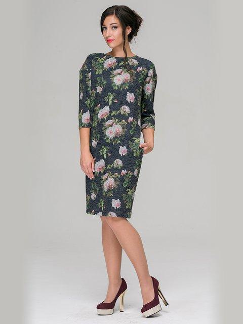 Платье в цветочный принт Jet 3687342