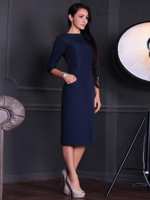 Сукня темно-синя Maurini 3685293