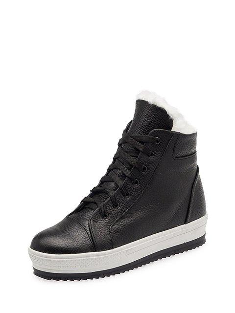 Ботинки черные Tops 3647927
