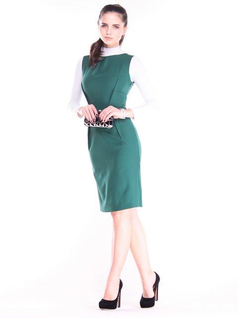 Платье темно-изумрудного цвета Laura Bettini 3686801