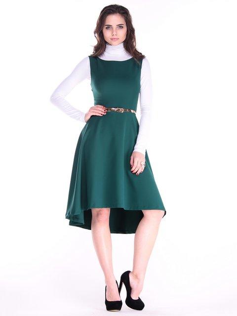 Платье темно-изумрудное Dioni 3686913