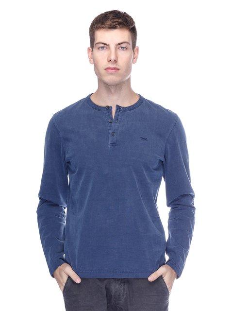 Лонгслів синій Brax 3675903