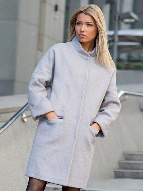 Пальто серое Lesya 3552202