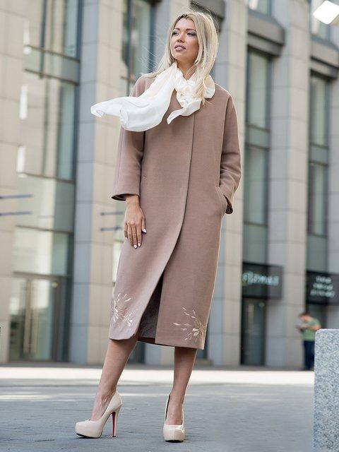 Пальто коричневое Lesya 3552148