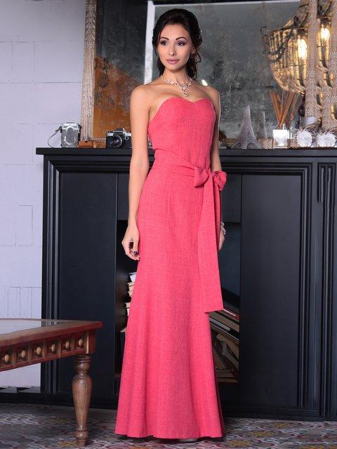 Платье цвета красный коралл Dioni 3692779