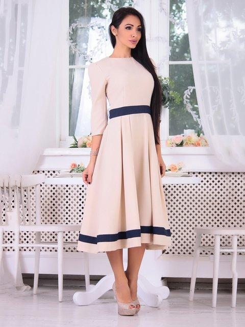 Сукня бежева Dioni 3692785