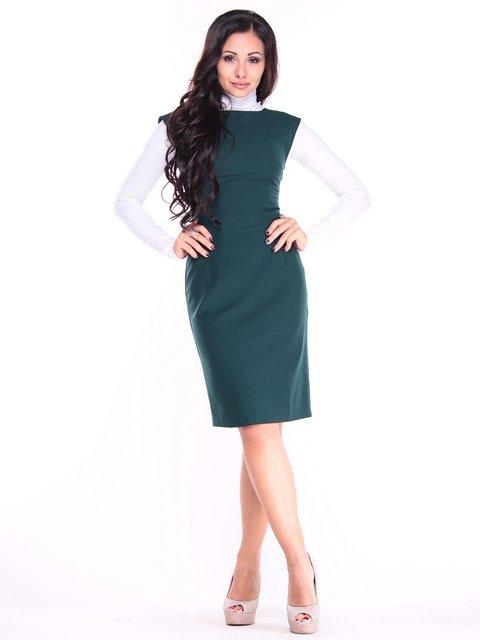Платье темно-изумрудного цвета Maurini 3692803