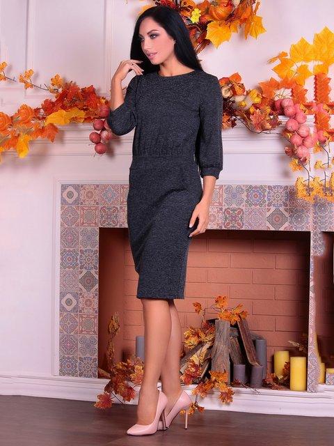 Платье черное Victoria Loks 3692831