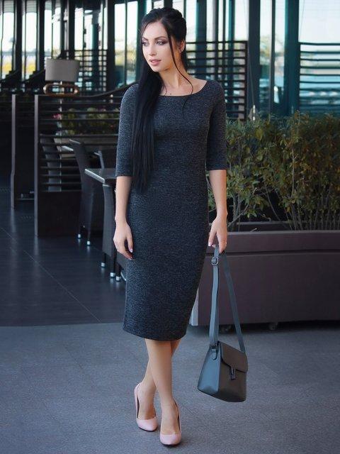 Платье черное Victoria Loks 3692892