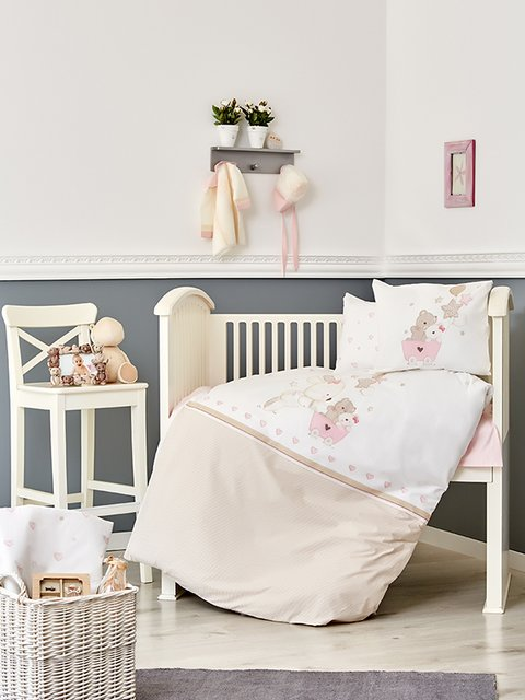 Комплект постельного белья для младенцев Karaca Home 3697779