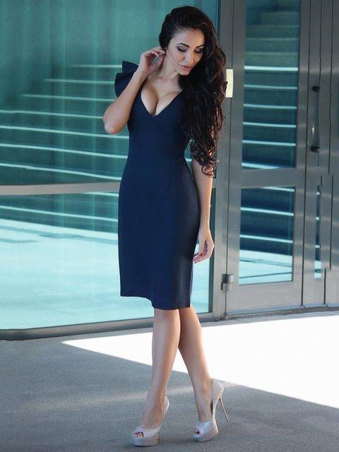 Сукня темно-синя Dioni 3679121