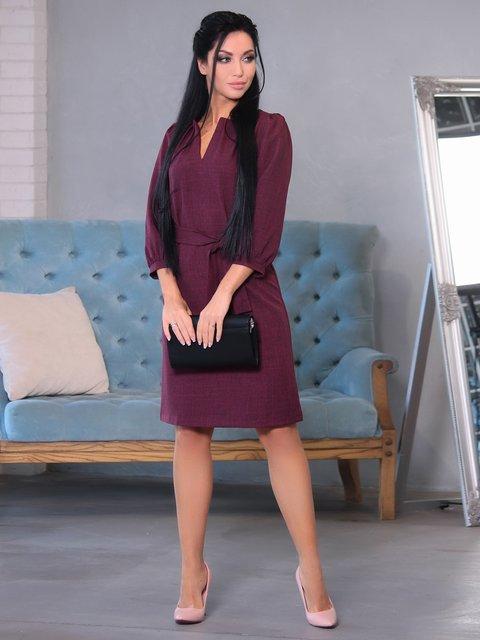 Сукня сливового кольору Victoria Loks 3699757
