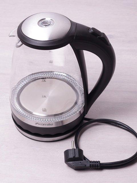 Чайник електричний з синім LED-підсвічуванням (1,5 л) Trendy 3699994