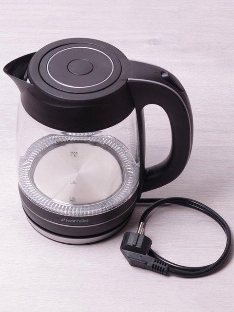 Чайник електричний з синім LED-підсвічуванням (1,8 л) Trendy 3699997