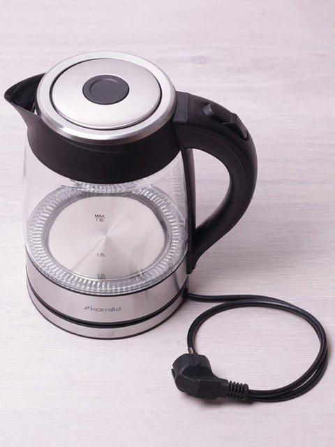 Чайник електричний з синім LED-підсвічуванням (1,8 л) Trendy 3699998