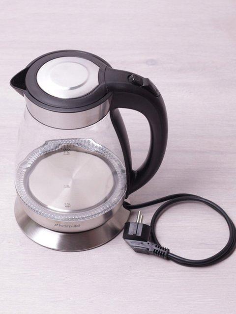 Чайник електричний з синім LED-підсвічуванням (1,7 л) Trendy 3699999