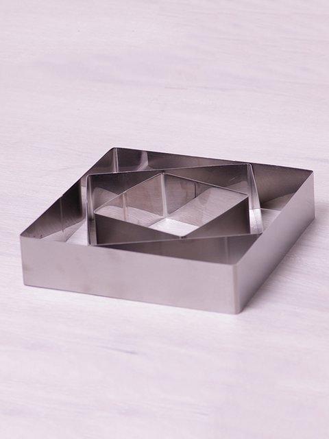 Набір квадратних форм для викладки/вирубування (3 шт.) Trendy 3700097