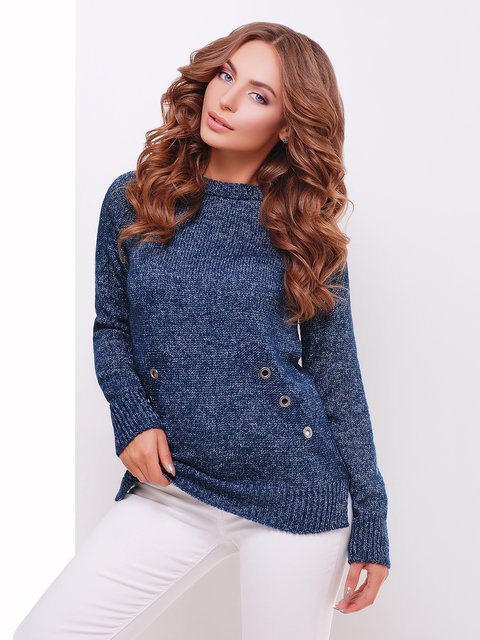 Джемпер сине-серый MarSe 3698105