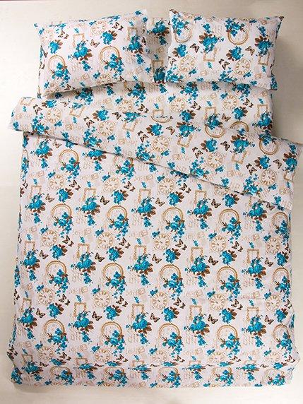 Комплект постельного белья семейный LOTUS 2776292