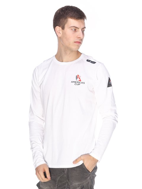 Лонгслів білий Sail Racing 2632217