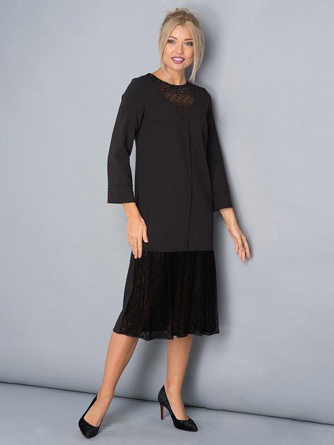 Платье черное Lesya 3703376