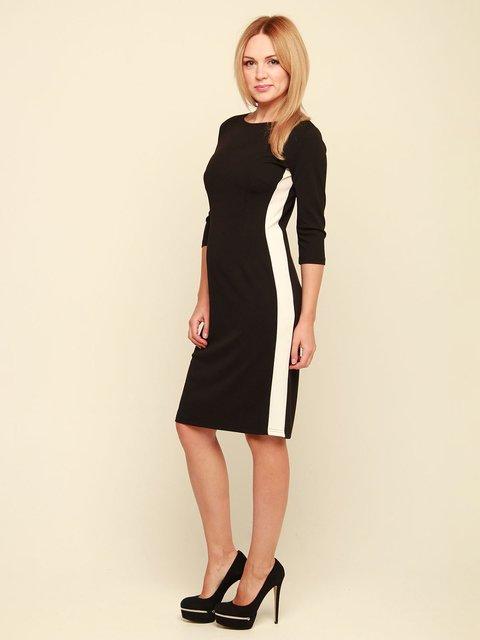 Сукня чорно-біла MOONLIGHT 3710818