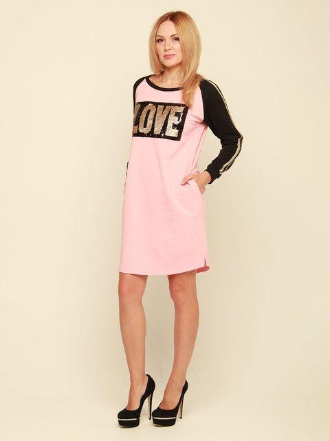 Сукня рожева з написом MOONLIGHT 3710842