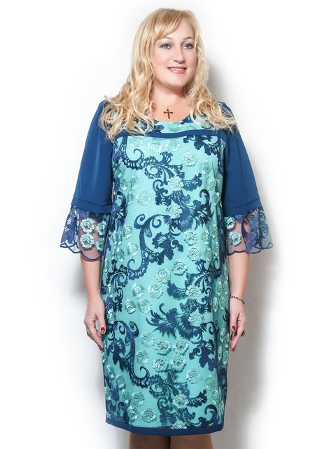 Платье в узор LibeAmore 3710998