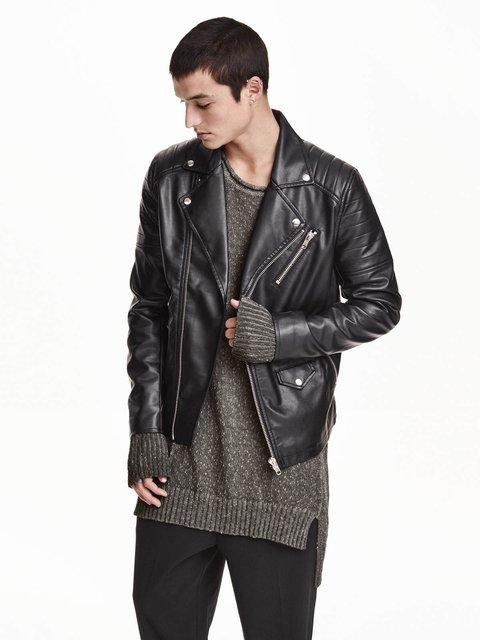 Куртка чорна H&M 3602861
