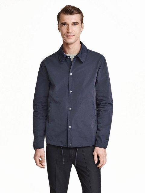 Куртка темно-синя H&M 3655394