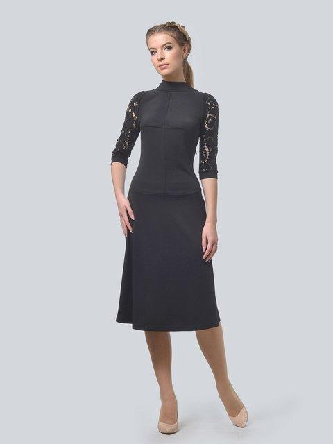 Платье черное LILA KASS 3713368