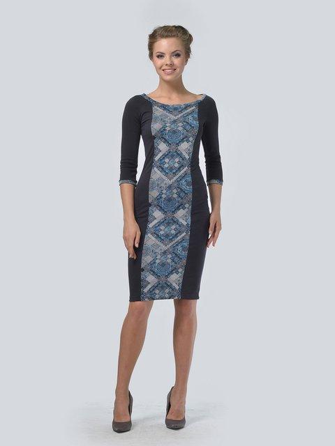 Платье темно-серое LILA KASS 3713384