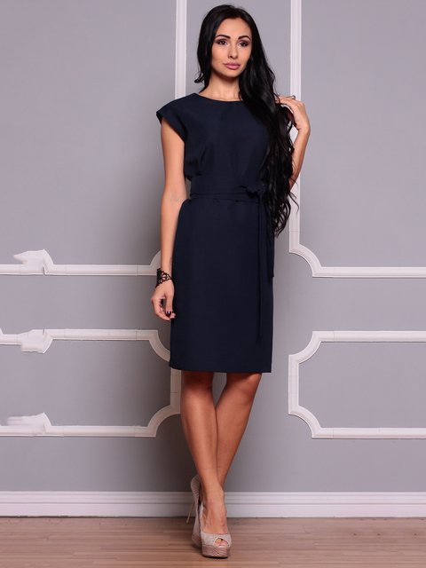 Платье темно-синее Laura Bettini 3719831