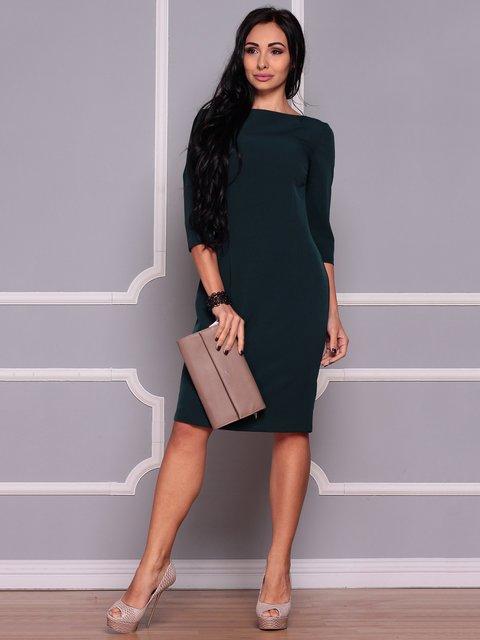 Сукня темно-смарагдова Laura Bettini 3719838