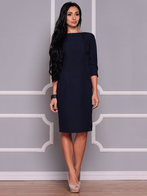 Сукня темно-синя Laura Bettini 3719839