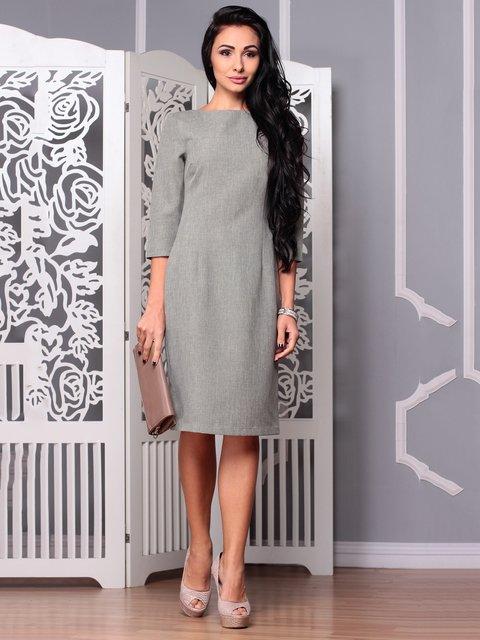 Сукня темно-оливкового кольору Laura Bettini 3719840