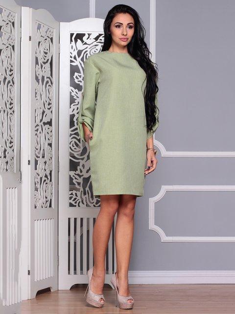 Сукня оливкова Dioni 3719851
