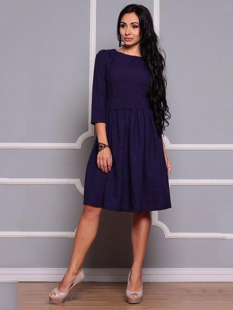 Платье темно-фиолетовое Dioni 3719856