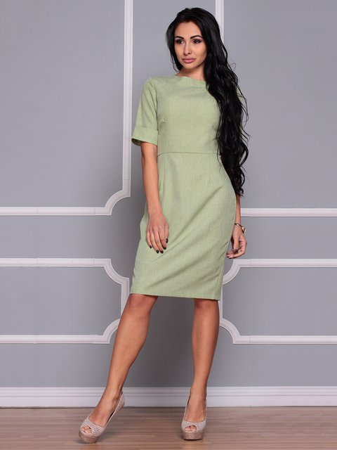 Платье оливковое Maurini 3719864