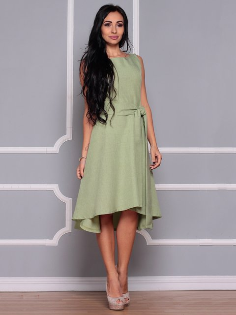 Сукня оливкова Maurini 3719866