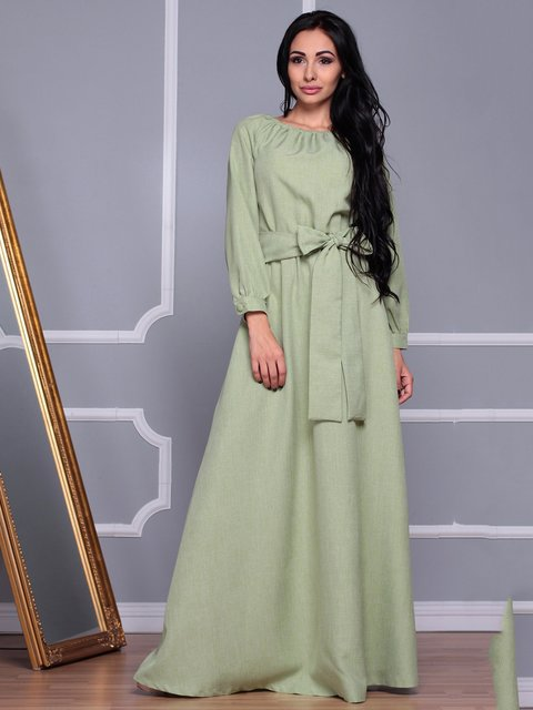 Платье оливковое Rebecca Tatti 3719883