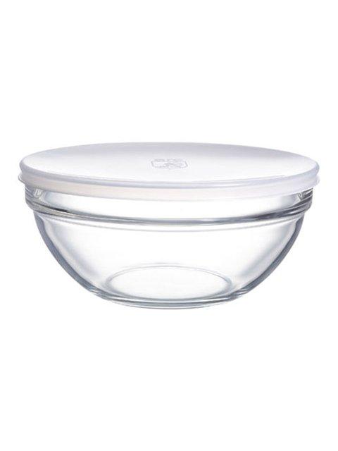Салатник з кришкою круглий (20 см) Luminarc 3720446