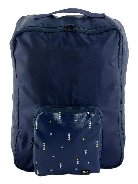 Сумка-рюкзак синяя Traum 3720908