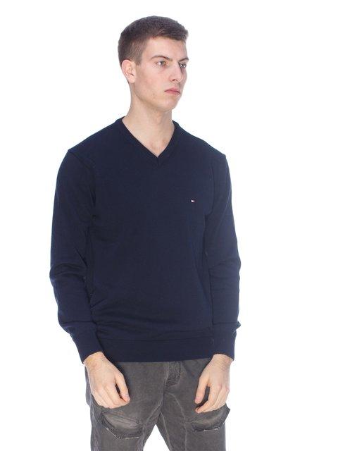 Пуловер темно-синій Tommy Hilfiger 3718067