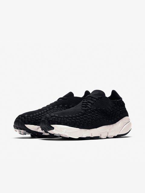 Кроссовки черные Air Footscape Woven Nike 3705142