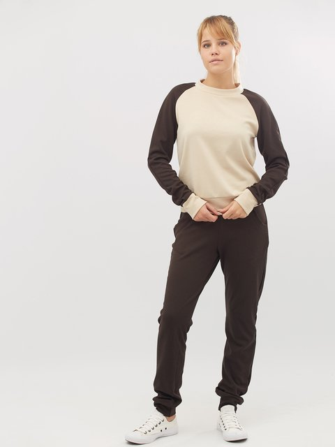 Костюм: свитшот и брюки CRISS 3724008