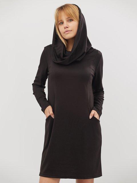 Платье черное CRISS 3724058
