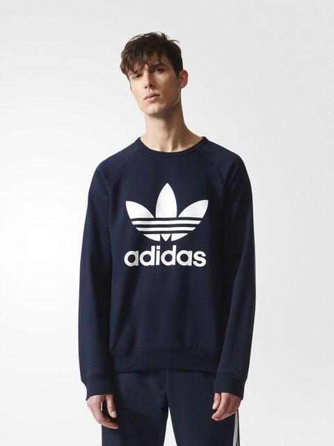 Джемпер синий Adidas 3711609