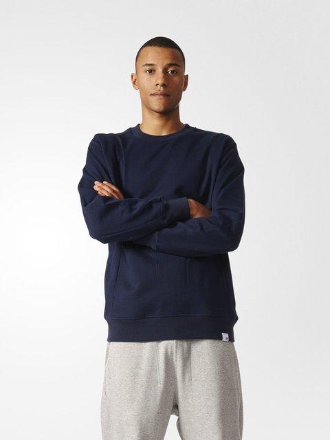 Джемпер синий Adidas 3711726