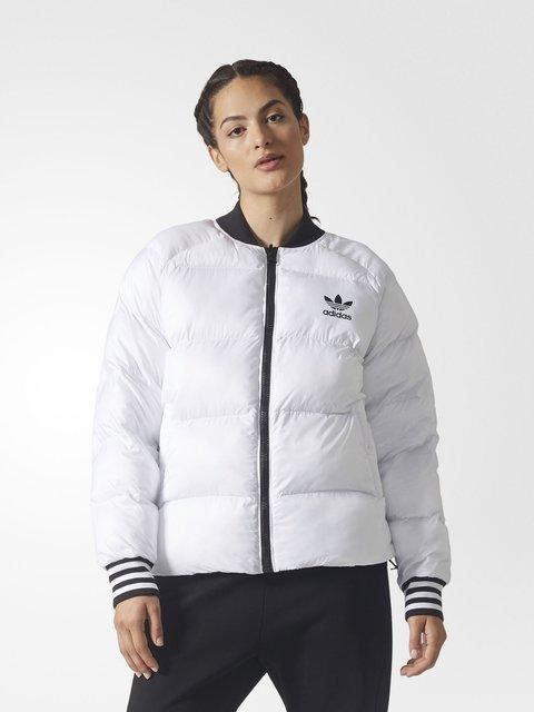 Куртка бело-черная двусторонняя Adidas 3711822